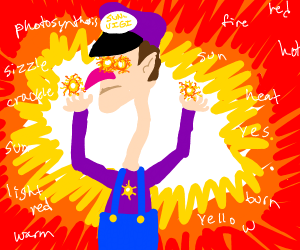 Waluigi Is A Sun God