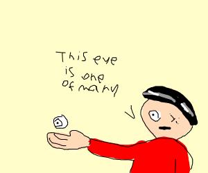 My eye is many