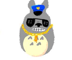 Totoro is a gangster cop