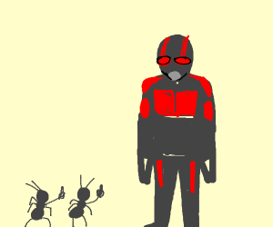Ants Tell Antman to Buzz Off