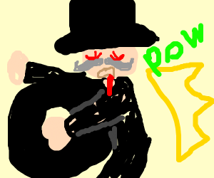 Monopoly man gets donuted