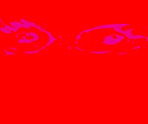 All-seeing eye burns