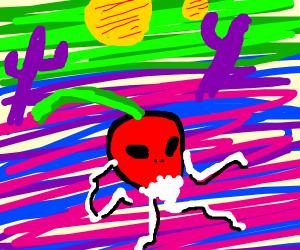 Radish from an Alien Planet