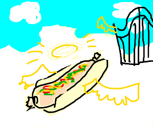 Hot Dog from Heaven