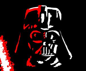 Weird Dark Vador