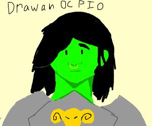 Draw an oc PIO
