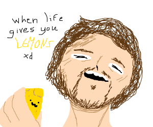 when life gives you lemons vine