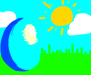 cyan easter egg