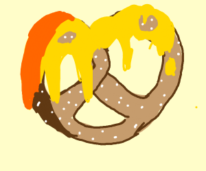 Cheeze pretzel