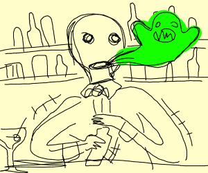 Possessed Bartender