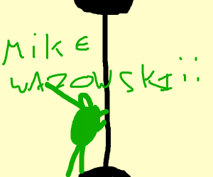 Mike Wazowski pole dancing