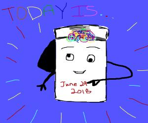 Today is 29 June 2019