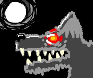 shaky wolf, w seducing eyes