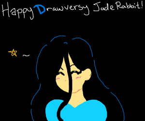 Happy Drawversary JadeRabbit!