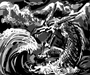 Sea horse dragon