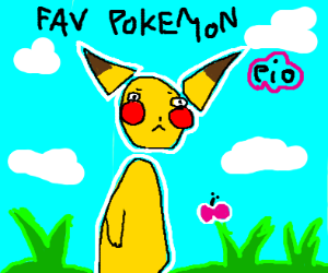 Favorite Pokemon P.I.O (Pass It On)