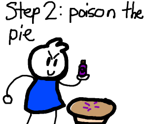 How to eat a pie: Step 1- Make pie