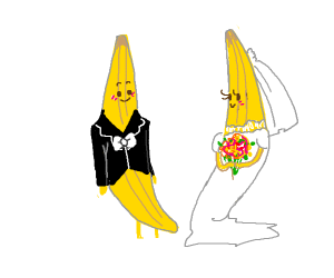 Banana wedding