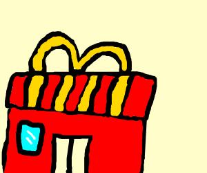 You know I love McDonald's