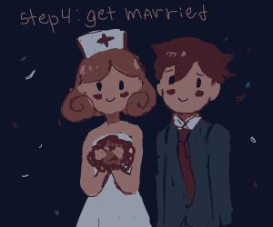 Step 3: meet a cute nurse