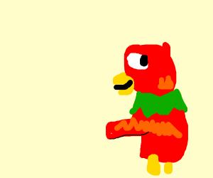 Parrot Sneaking