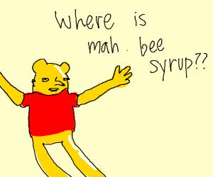 Winnie the Pooh can't find his honey QrQ