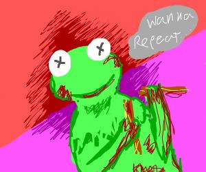 Kermit snaps