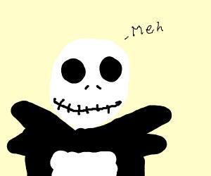 jack skeleton says meh