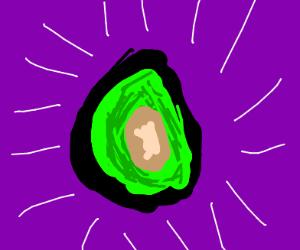 It's an avocado!!!!!