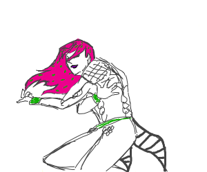 Diavolo does the torture dance