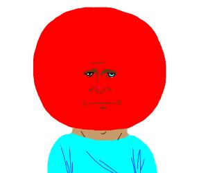 big head red head