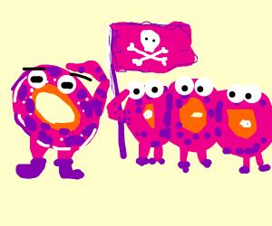 Donut army