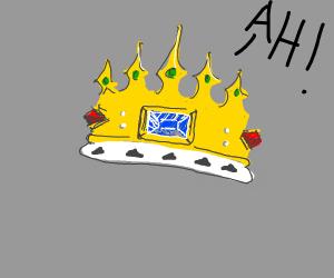 Crown yelling