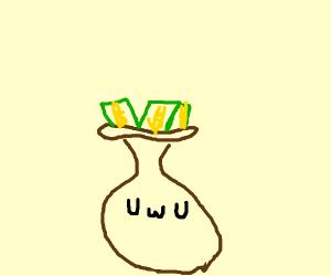 uwu money bags