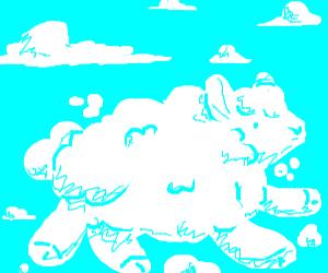 cloud or sheep?