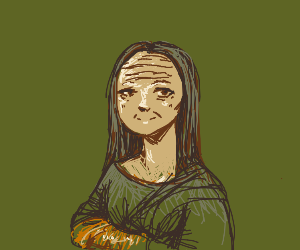 monalisa but old