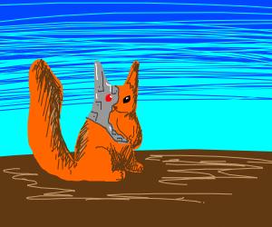 Cyborg squirrel