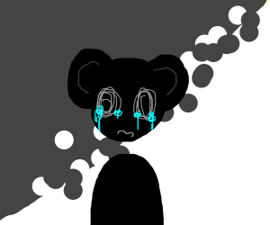 Minnie Mouse is Sad