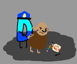Drawception police arrests trolls
