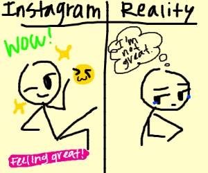 reality of instagram models