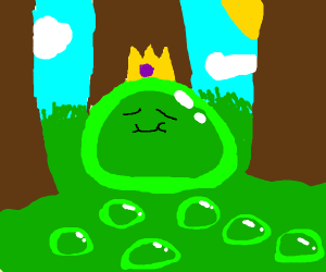 The slime is king