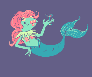 Beautiful Mermaid Kermit
