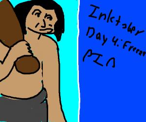 Inktober Day 4 Prompt: Freeze PIO