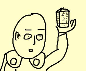 One Punch Man has gluten free bread