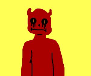 Chubby satan