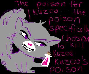 Yzma as a cat