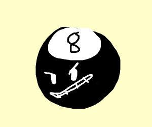 evil 8 ball