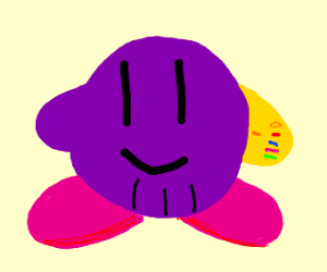 kirby and thanos fusion
