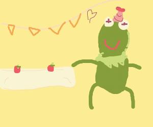 Kermit de frog party