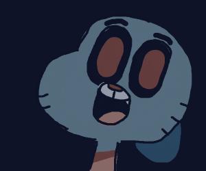 Evil shiny gumball (The cat) head